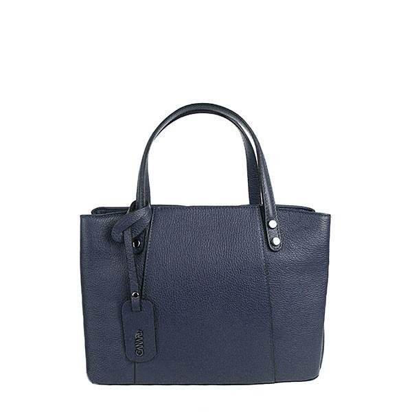 Dámská kožená tmavě modrá kabelka EC021 872bf021c30