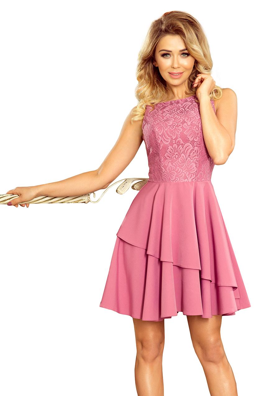 3e4d2281c Dámské fialové plesové šaty 236/1