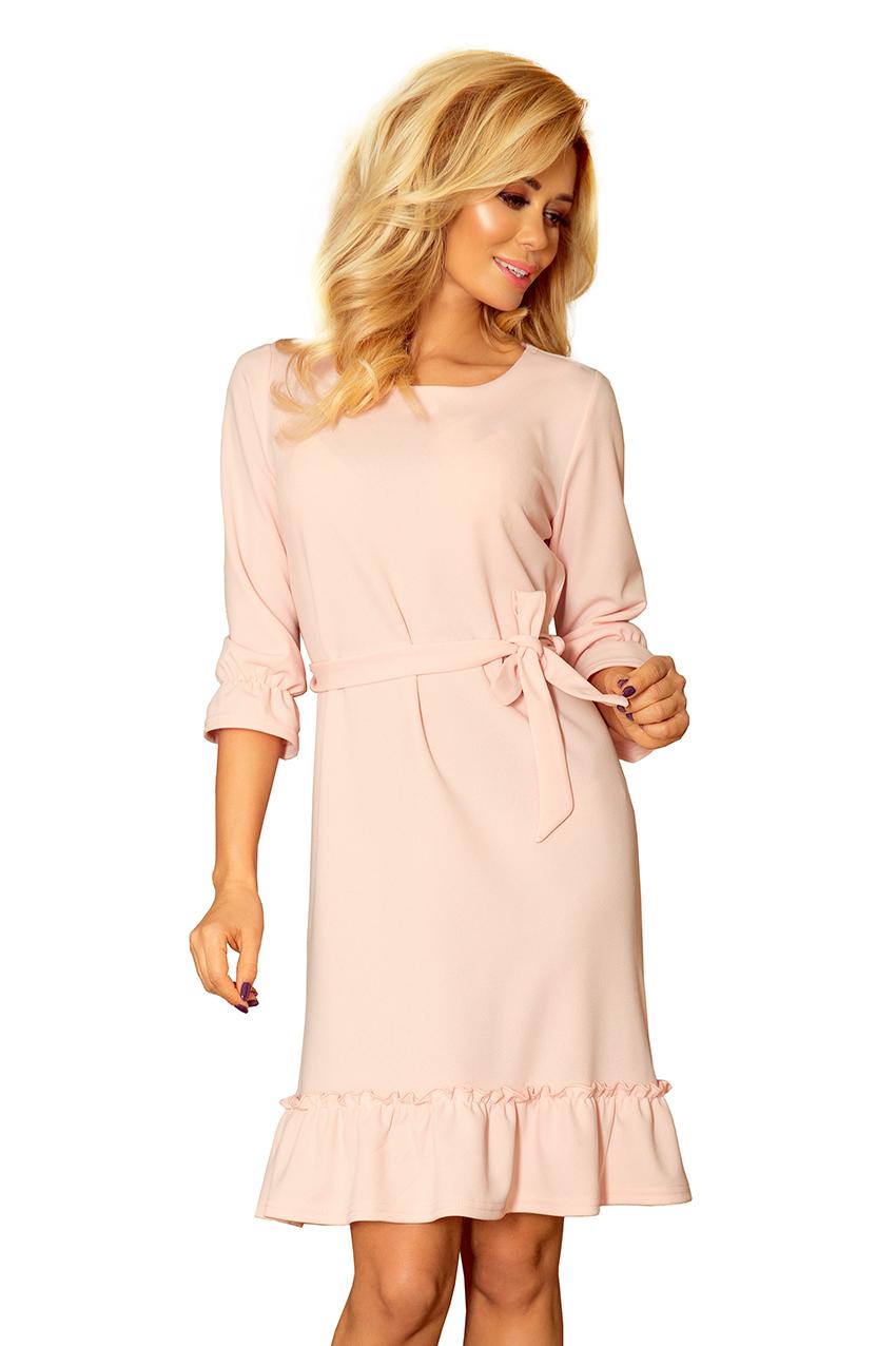 Dámské růžové letní šaty 193-2 3971a5290f
