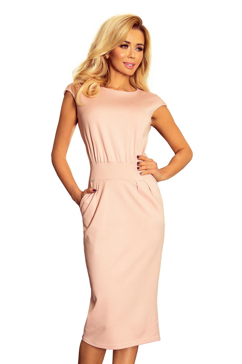 0c2624c33b2 Dámské růžové společenské šaty 144-6