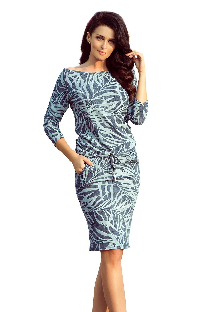Dámské vzorované šaty 13-87 8923e0e866f