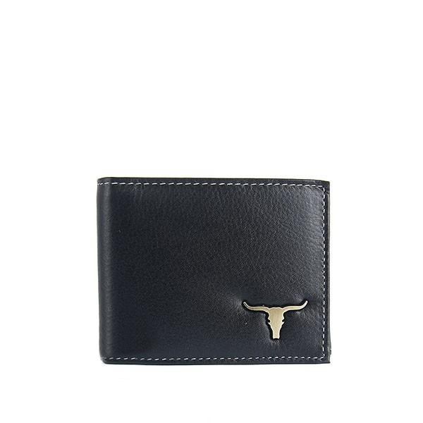 Pánská černá kožená peněženka Wild 05BAW3 b170c43495