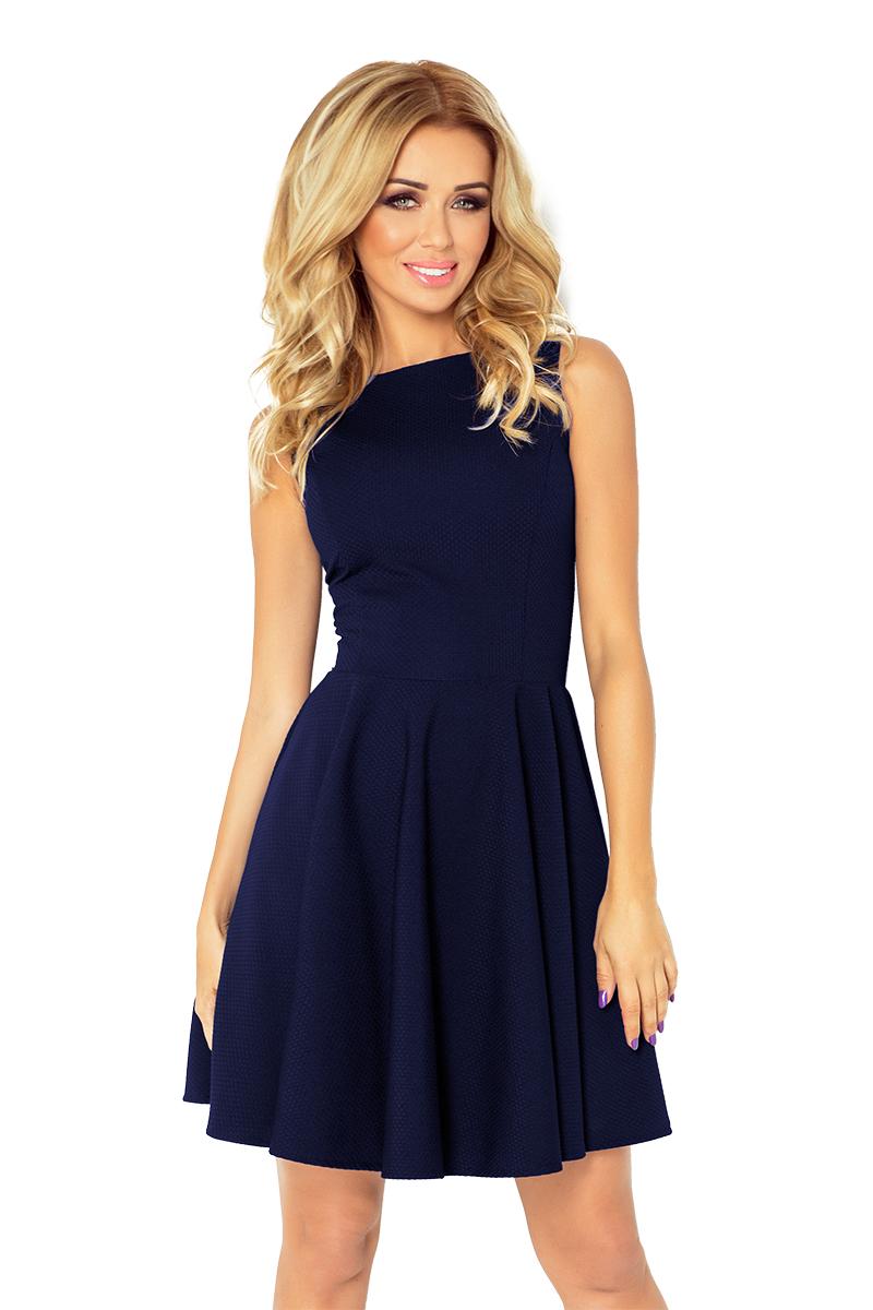 Dámské tmavě modré letní šaty 125-21 7375cadfcf