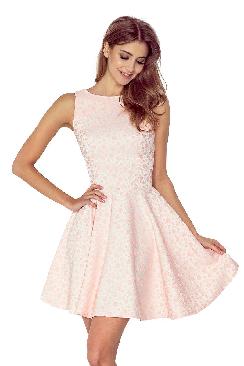 Dámské světle růžové letní šaty 125-14 c438a16c51
