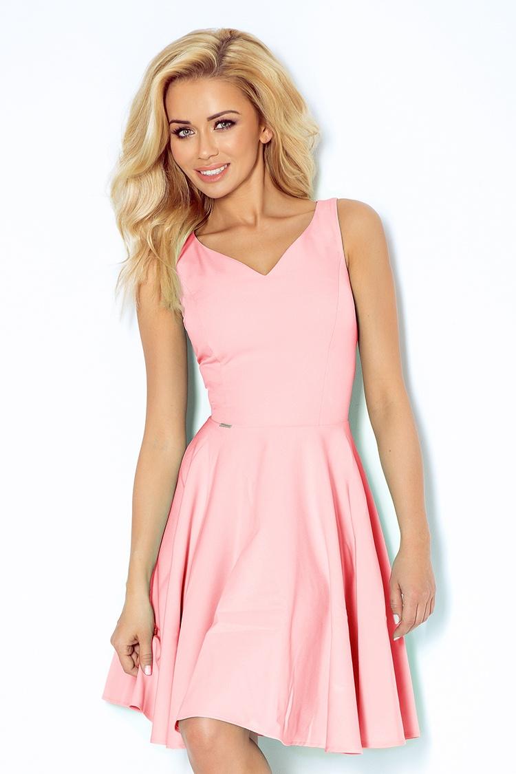 Dámské světle růžové plesové šaty 114-5 50ef5f04ca5
