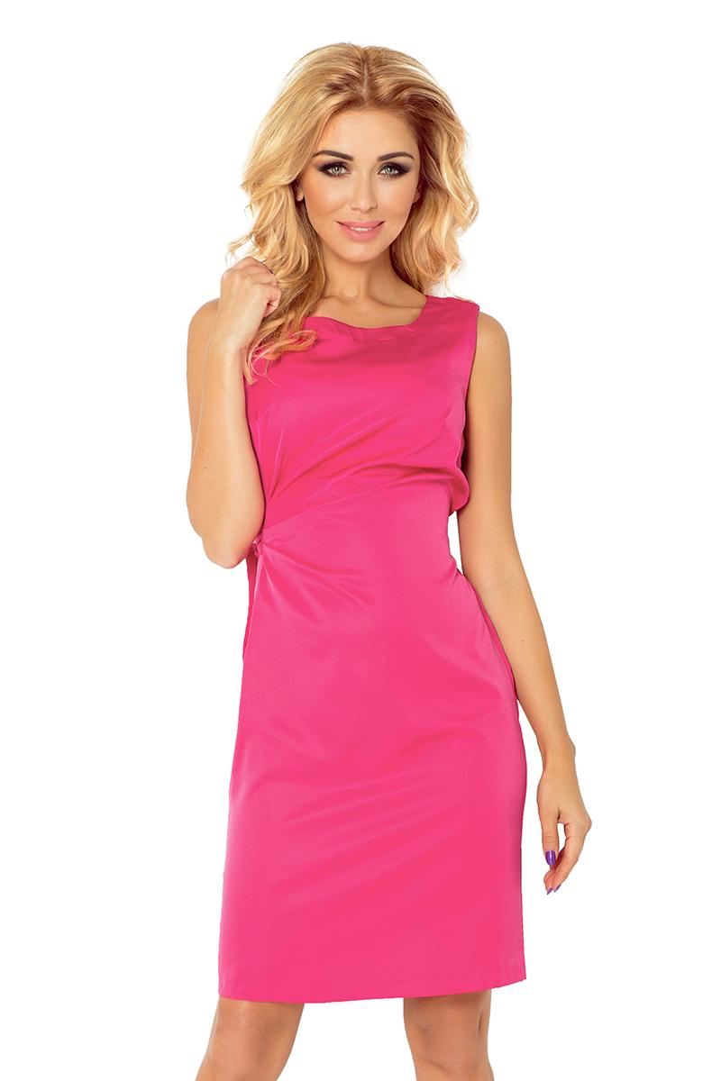 Dámské růžové plesové šaty 126-6 1c6c8ccab2