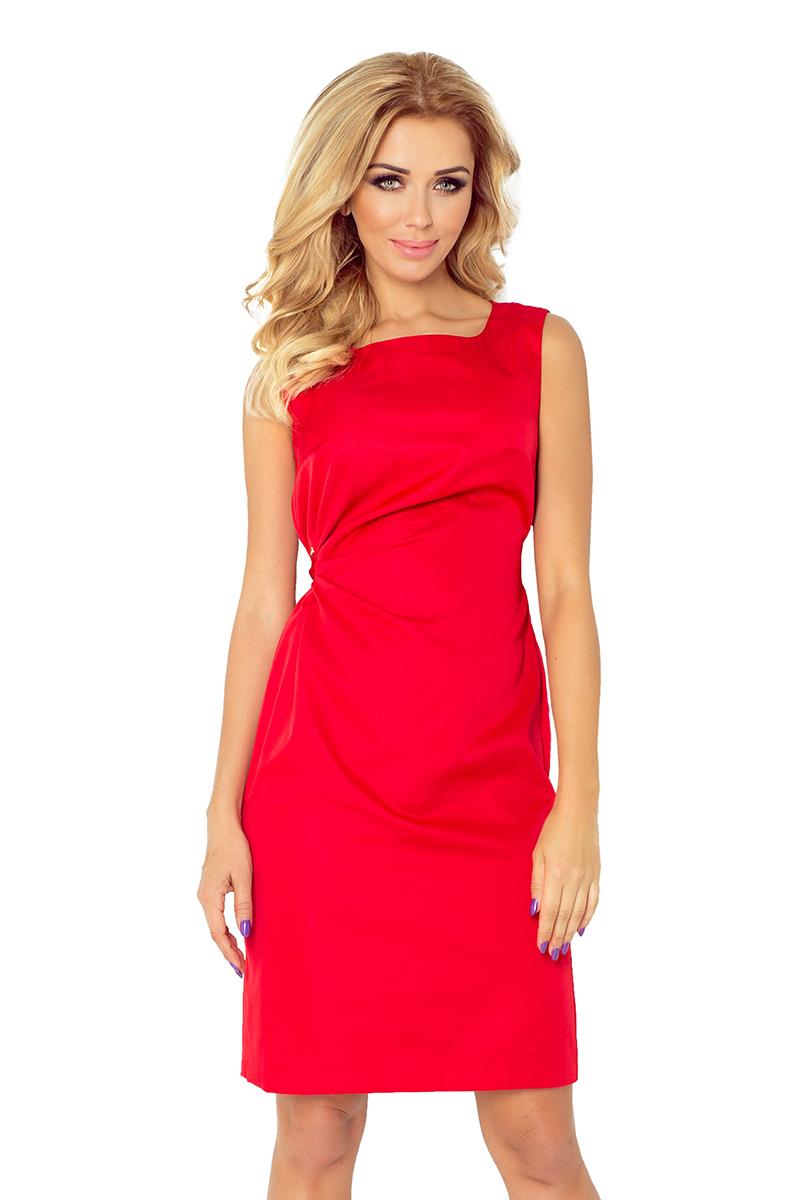 Dámské červené plesové šaty 126-5 d2280628236