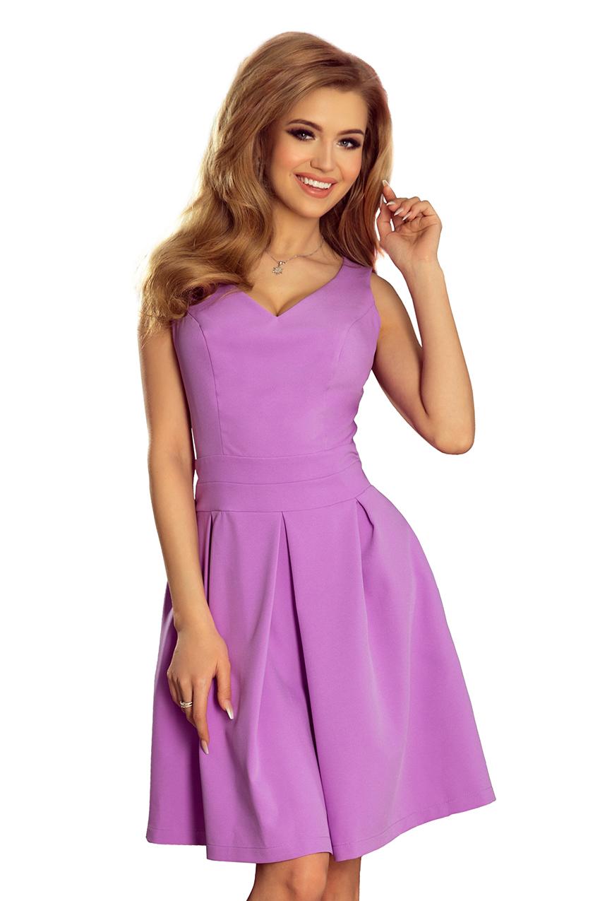 Dámské fialové letní šaty 160-5 371126876f