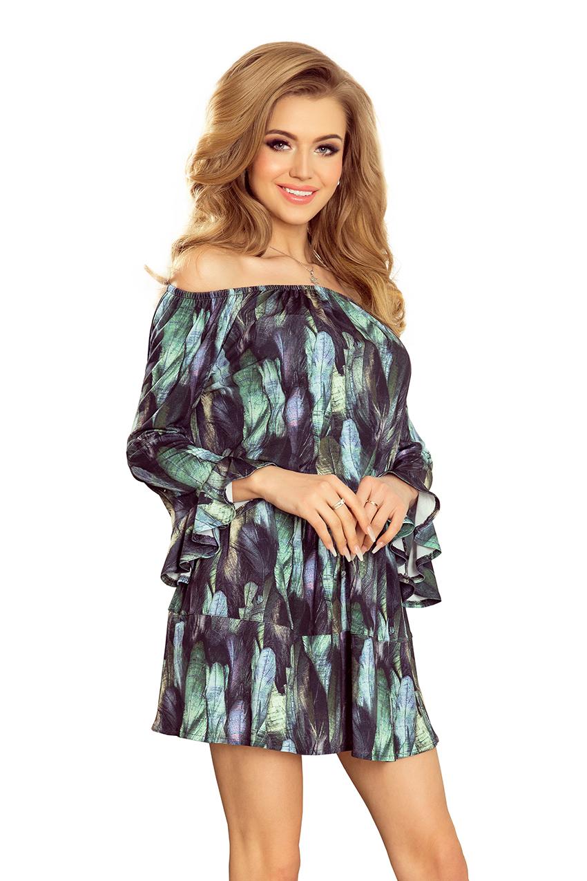 Dámské vzorované letní šaty 198-1 f50b415907