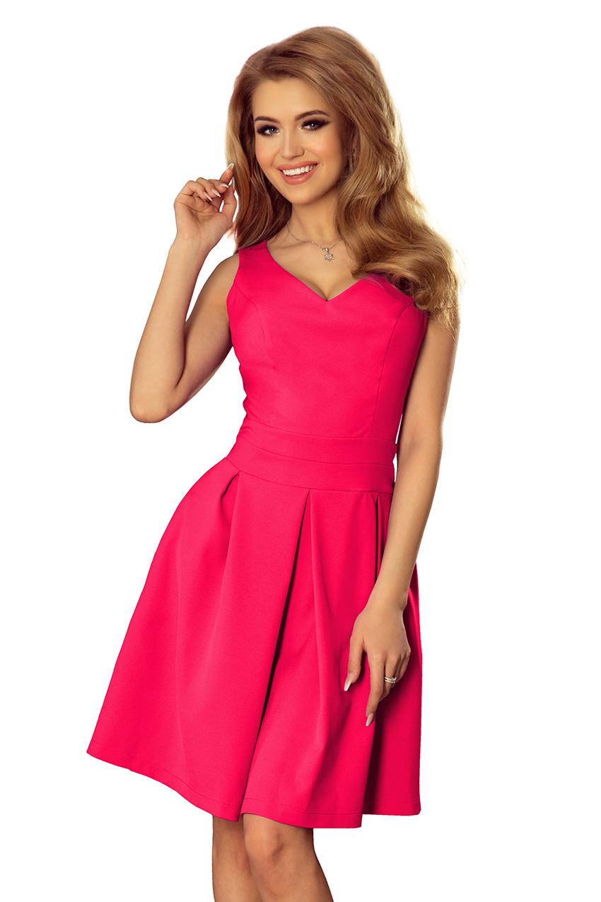 d51ed0940b0b Dámské růžové letní šaty 160-6