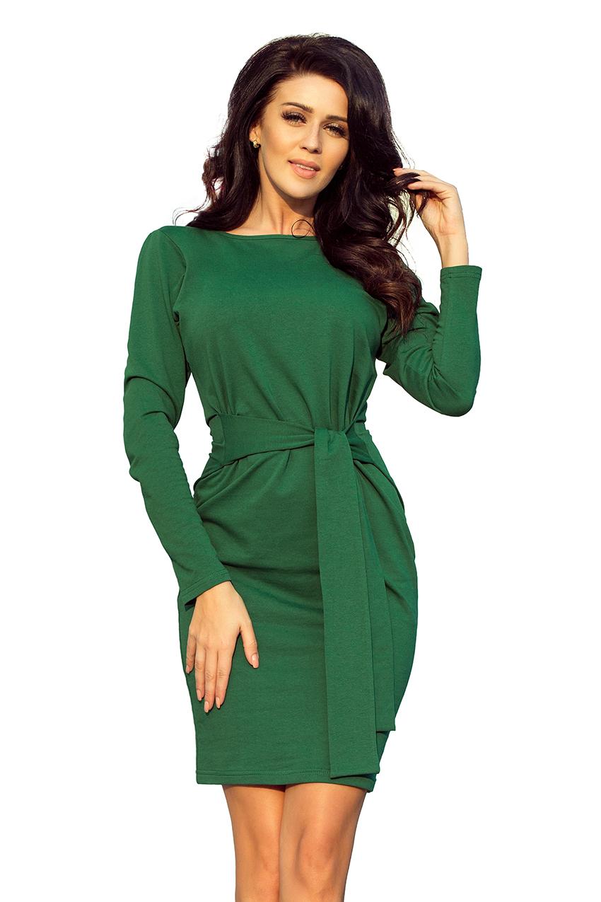 fe35fae036bc Dámské zelené šaty 209-2