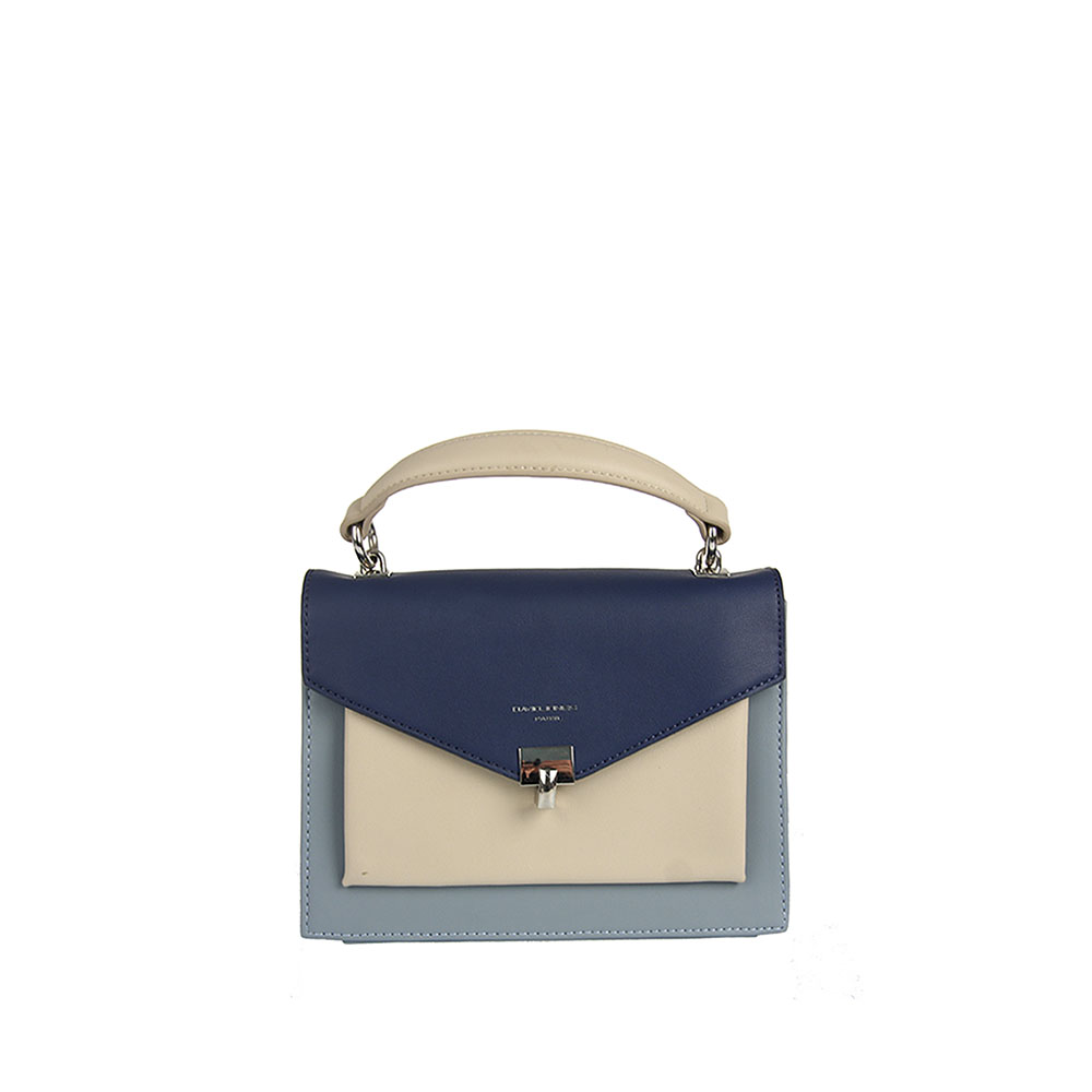 Dámská modrá crossbody David Jones 5026