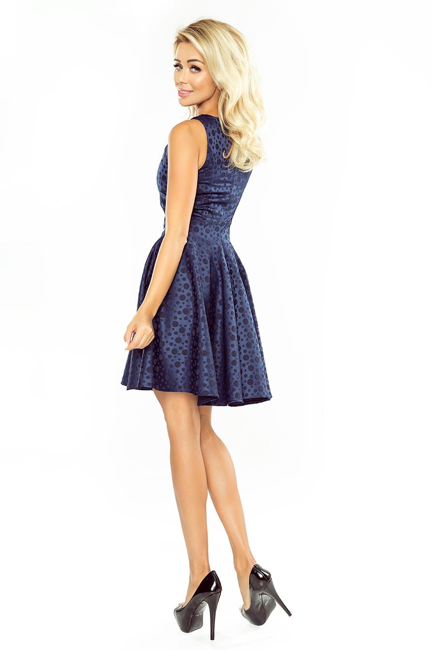 Dámské tmavě modré letní šaty 125-22 04331b3e3f