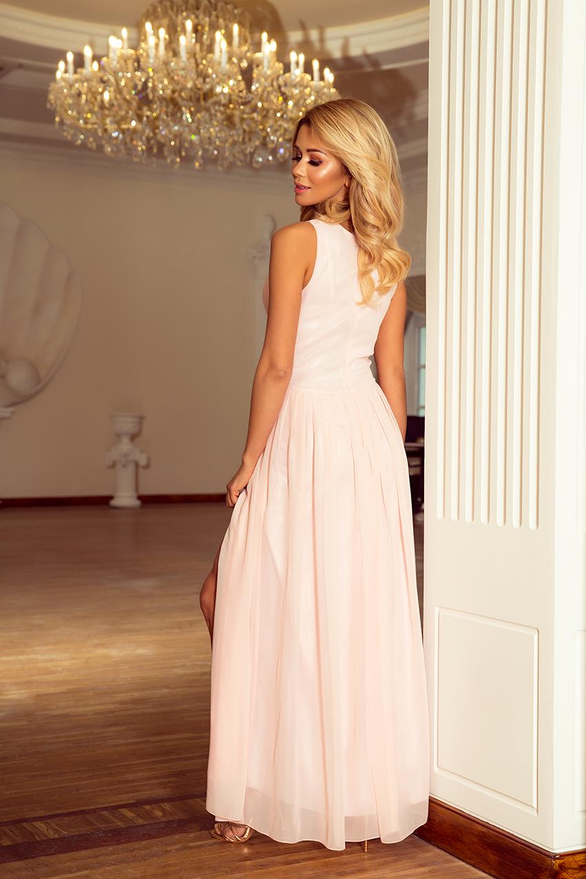 Popis vybraného produktu  Dámské světle růžové šaty 13b604be3b