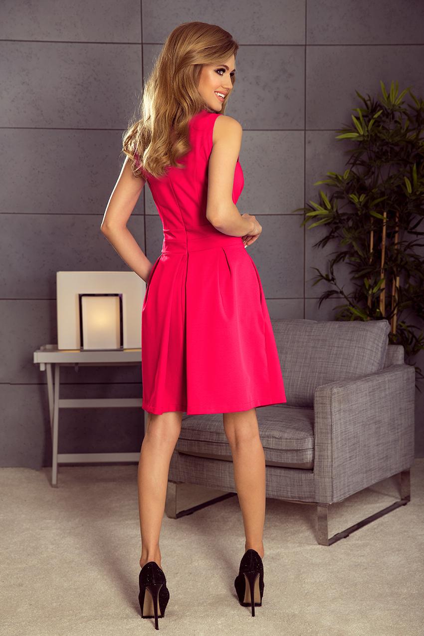 eb5d6ef9b84 Dámské růžové letní šaty 160-6