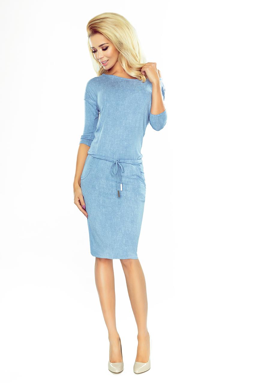 Dámské modré sportovní šaty 13-80 c79cc2414b