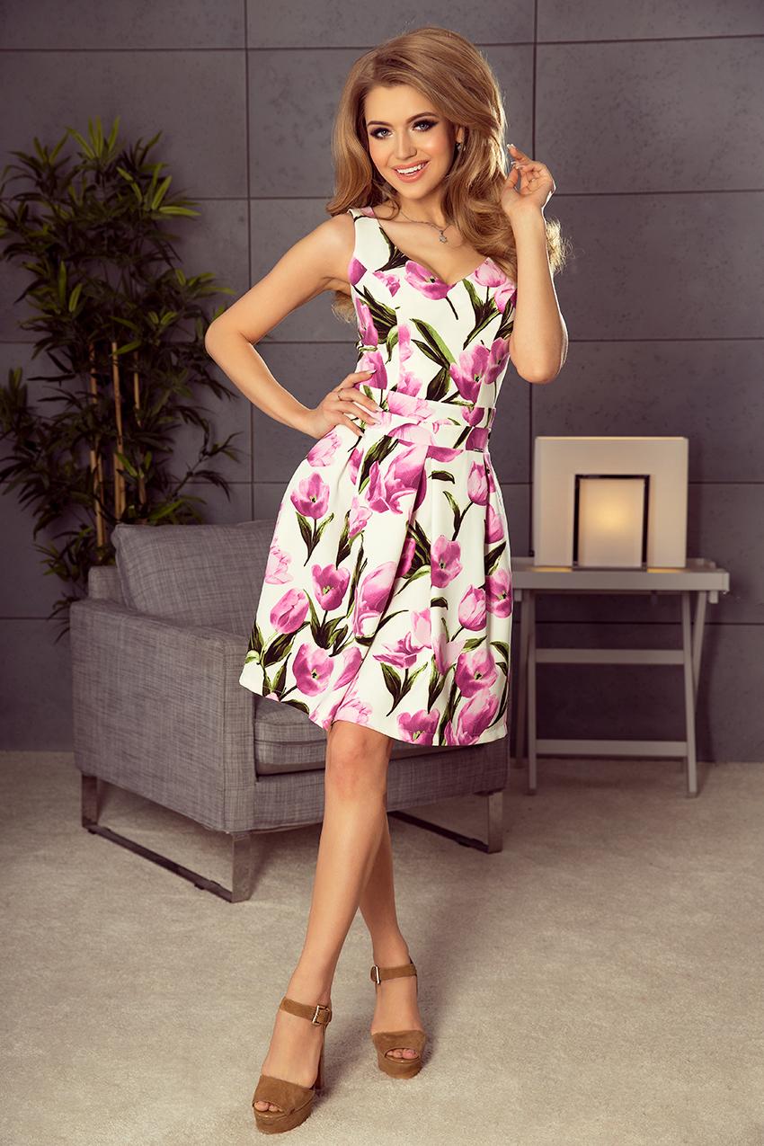 6c8ec33bfdd Dámské tulipánové letní šaty 160-4