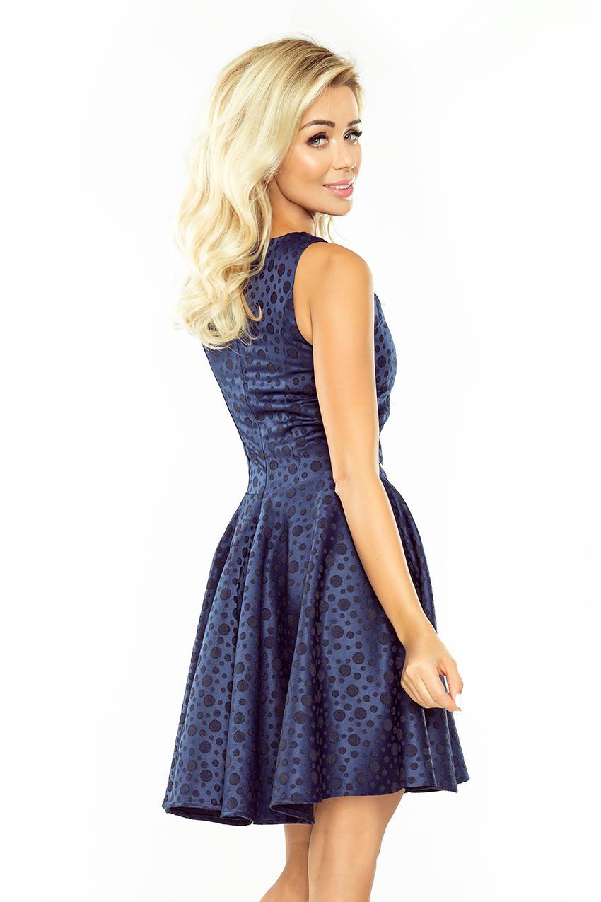 Popis vybraného produktu  Dámské tmavě modré šaty 55a4e9a0da