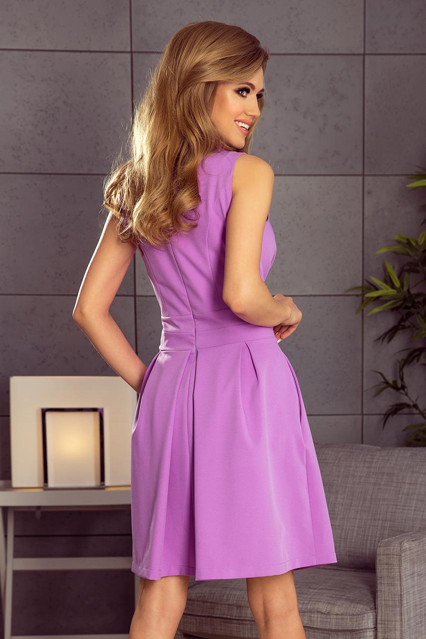 Popis vybraného produktu  Dámské fialové letní šaty eeae91d2197
