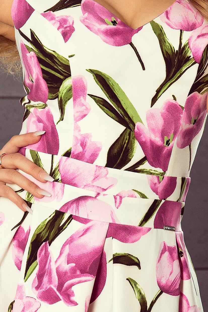 Dámské tulipánové letní šaty 160-4 3c8e4e4004d